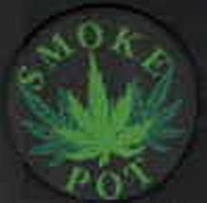 Aufnäher Cannabis