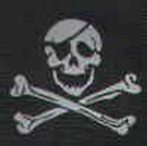 Aufnäher Pirat