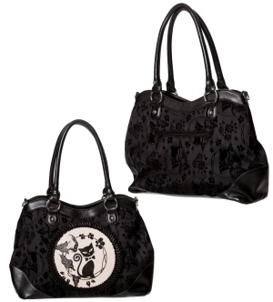 Handtasche Katze Alternative Wear Banned