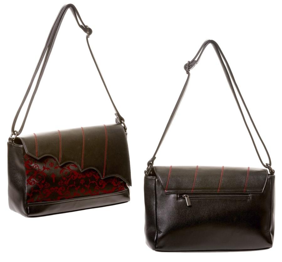 Handtasche Fledermaus Banned Alternative Wear