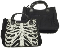 Handtasche Skelett Alternative Wear / Banned