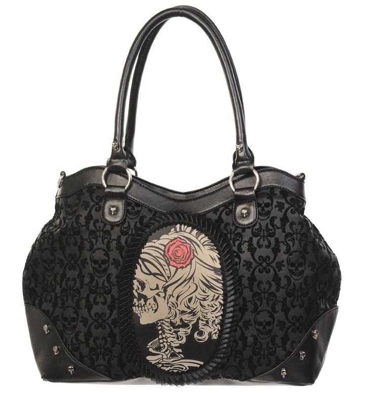 Handtasche Skelettlady Alternative Wear / Banned
