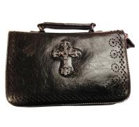 Umhängetasche Gothictasche Kreuz Banned