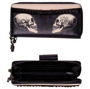 Geldbrieftasche Skeletthand