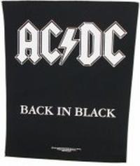 Rückenaufnäher AC-DC