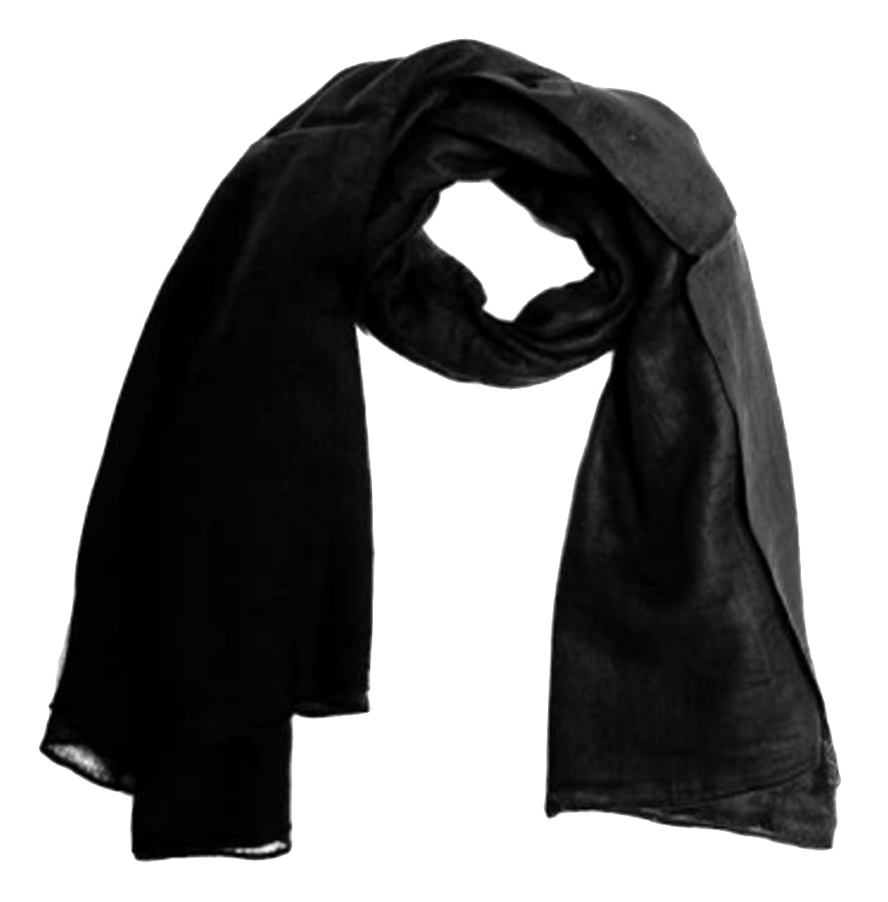 Baumwolltuch schwarz