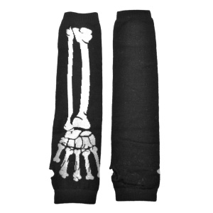 Armwärmer Skeletthand Poizen Industries