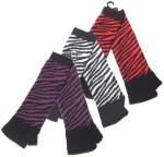 Handschuh Zebra fingerlos