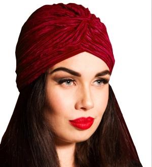 Velvet Turban Vintage Style Jawbreaker
