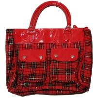 Handtasche Tartan