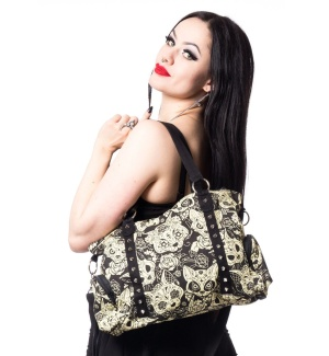 Meowtre Bag Canvas Tasche