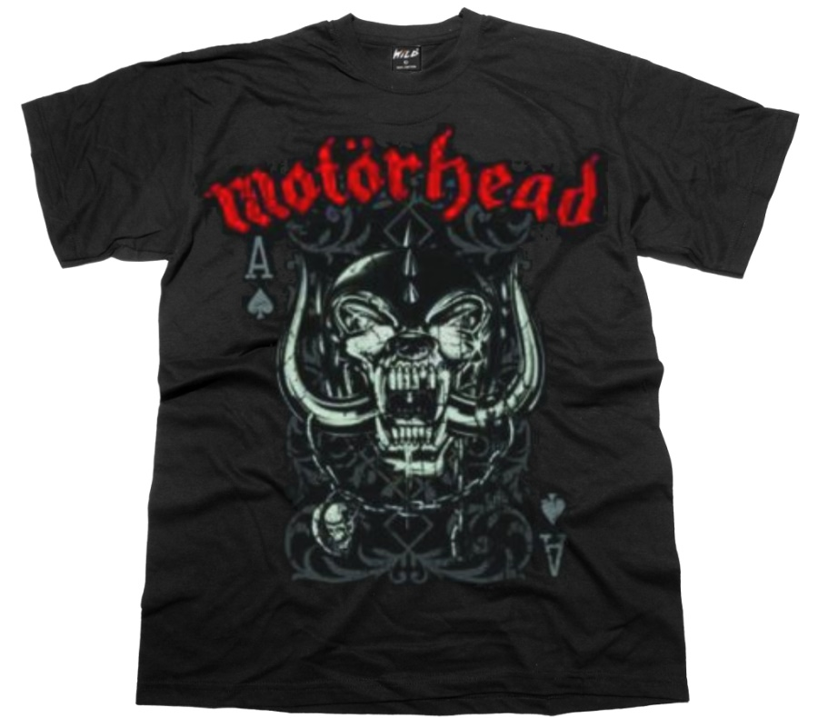 Mot�rhead Playing Card T-Shirt