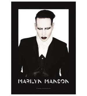 Posterfahne Marily Manson