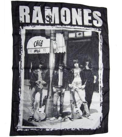 Posterfahne Ramones