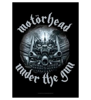 Posterfahne Motörhead under the gun