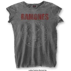 Ramones Vintage GirlShirt Presidential Seal