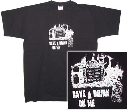 T-Shirt Bon Scott