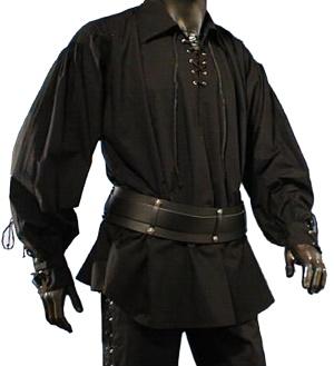 Piratenhemd Mittelalterhemd