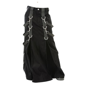 Herren Rock Belt Skirt Aderlass