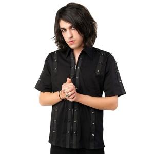 Herren Hemd kurzarm Prickshirt Aderlass