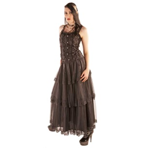 Kleid Lolita Longdress Brocade Aderlass