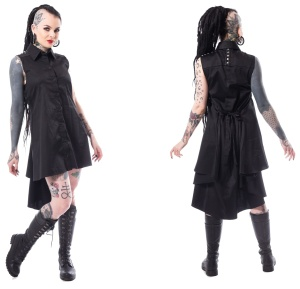 Aino Dress Blusenkleid Heartless