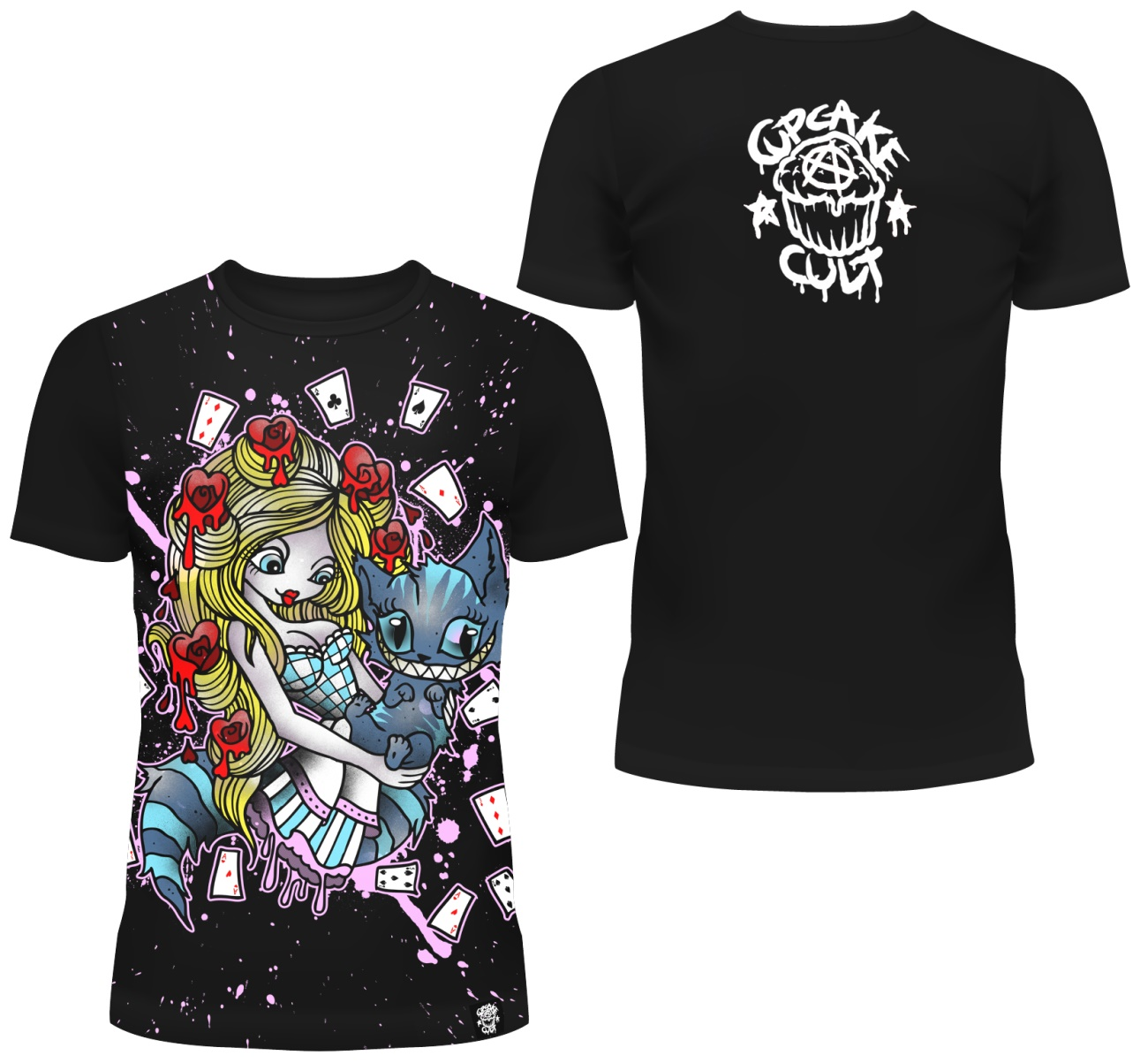 Girl Shirt Comicmotiv Evil Clothing