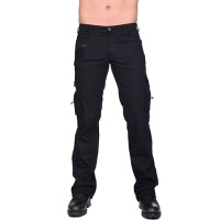 Combat Pant Denim Black Pistols