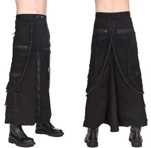 Männerrock Chain Black Pistol