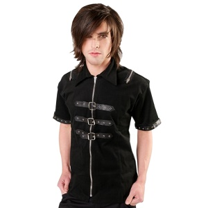Shackle Shirt Denim Black Pistol