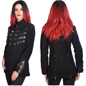 Uniformjacke Damen Army Jacket Black Pistols