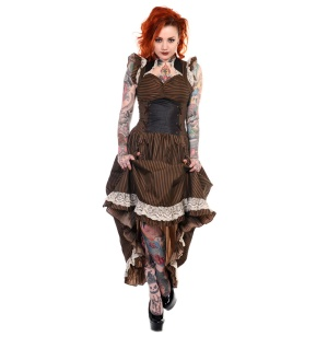 Victorian Vintage Dress/Steampunkkleid Banned