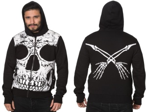Totenkopf Hoodie to the Wire Banned