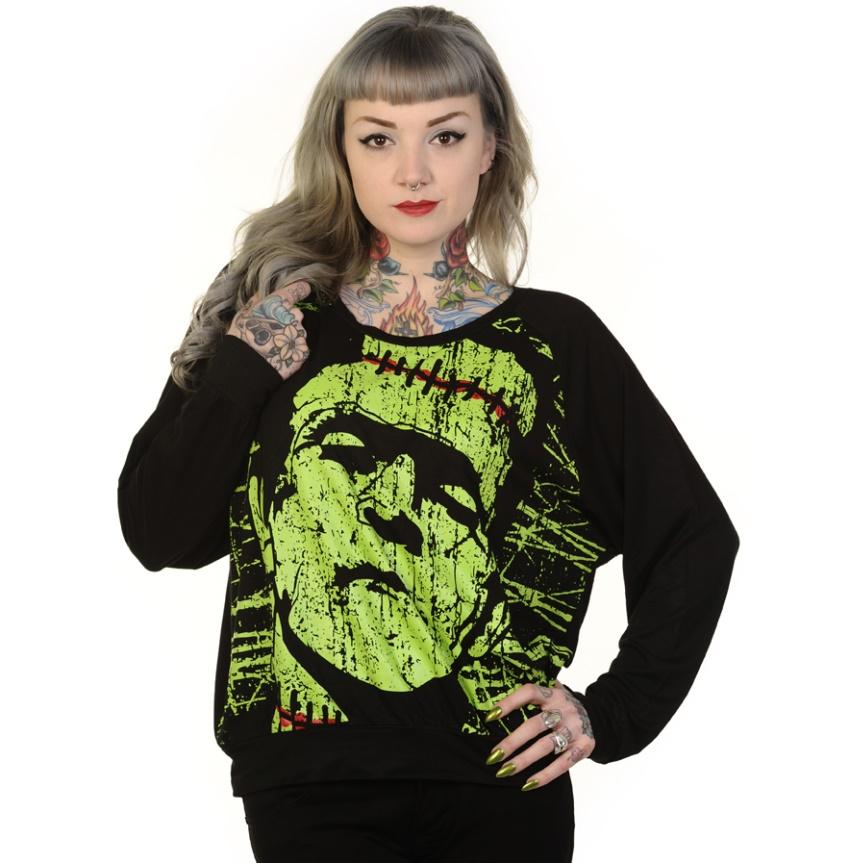 Girl Sweatshirt Alternative Wear / Banned