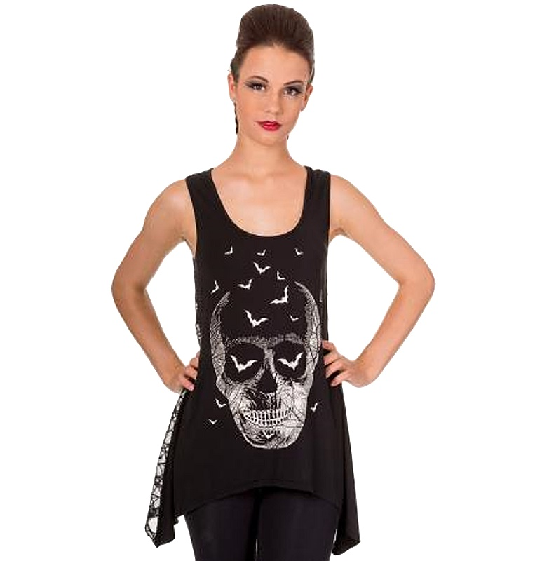 Top Skull Banned Clothing
