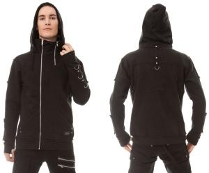 Gothic Sweatjacke Ben Hood Vixxsin