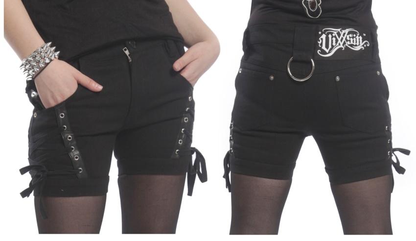 Girl Shorts Vixxsin Evil Clothing