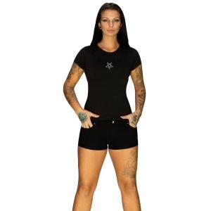 Girl-Shirt Pentagramm Dr. Faust