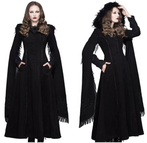 Morgana Coat Gothic Mantel Devil Fashion