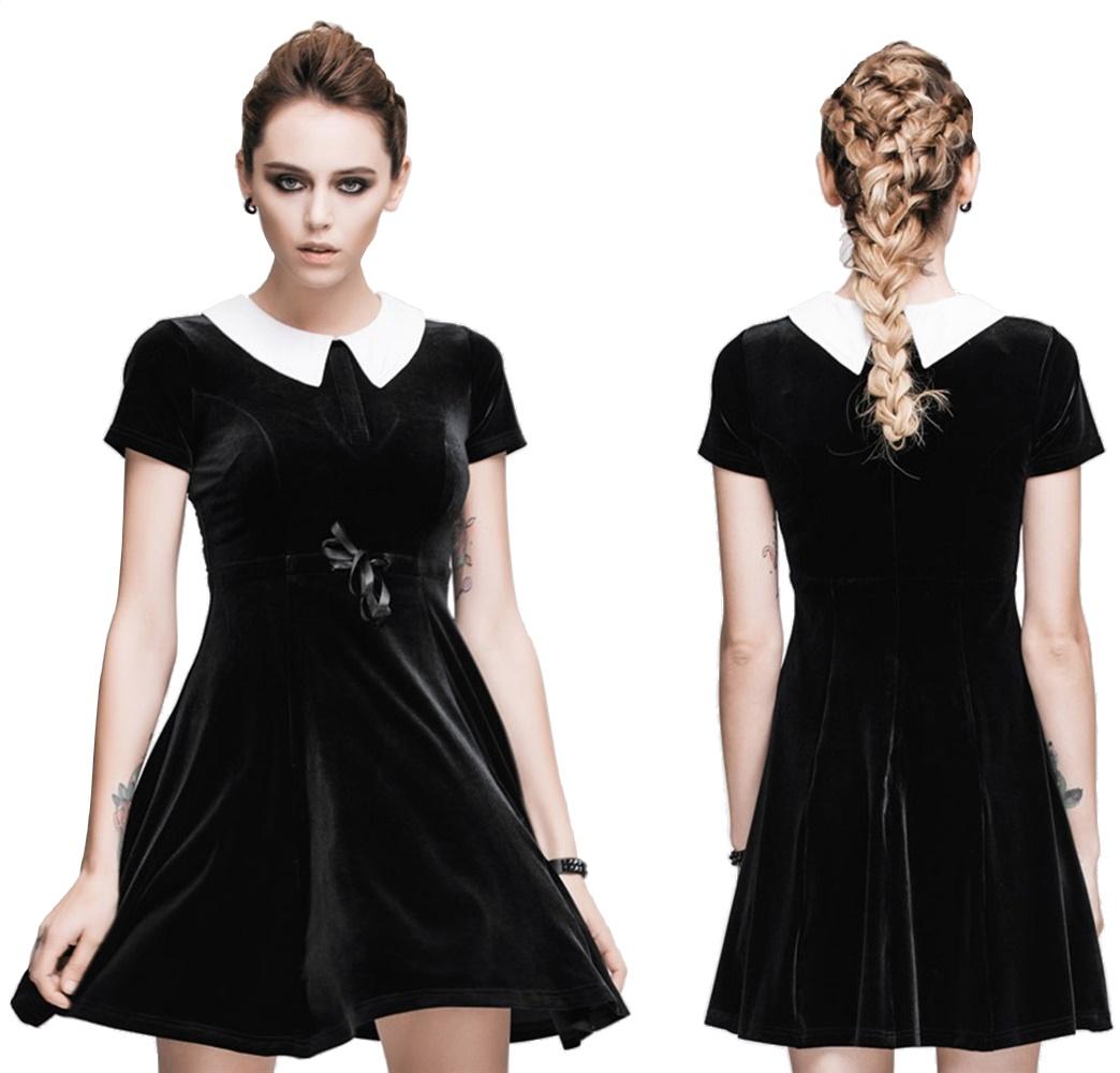 Samtkleid Gothic Lolita Devil Fashion Devil Fashion