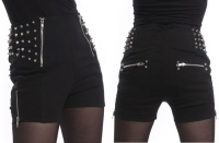Hotpant Devina Nietenshort Heartless