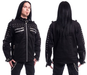 Nietenjacke Gaston Jacket Chemical Black