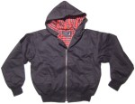 Hooded Harrington Style Jacke