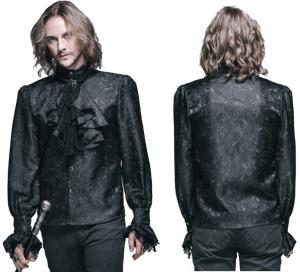 Gothic Hemd Brokat Devil Fashion