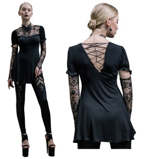 Gothic Shirt Devil Fashion