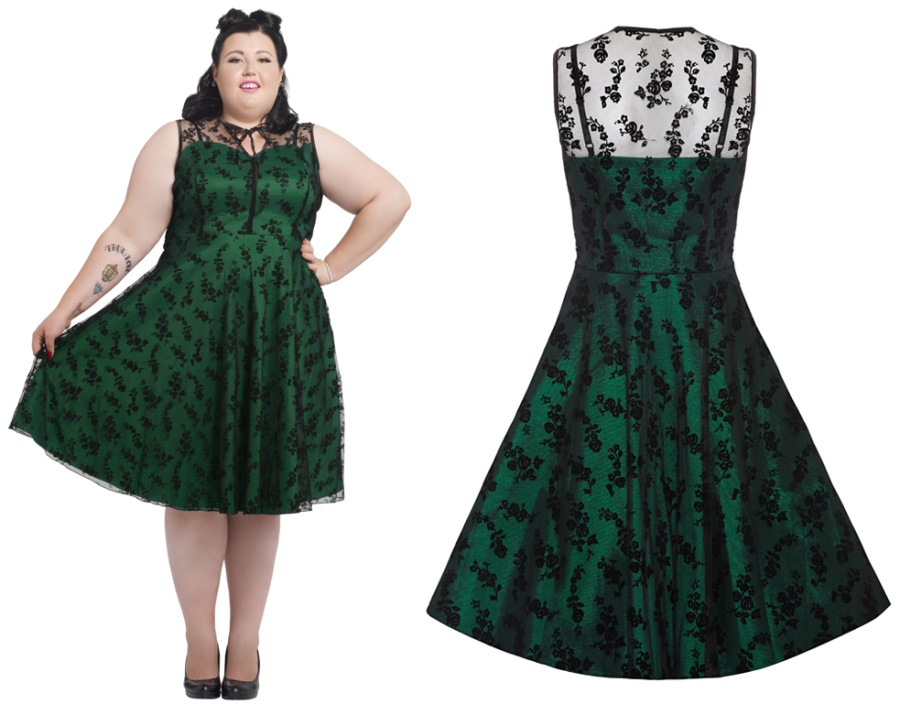 Cocktailkleid One Direction PlusSize