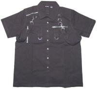Männer Workerhemd Dead Threads