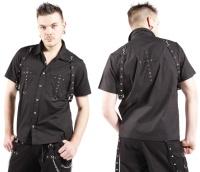 Herren Workerhemd Bondagehemd Dead Threads