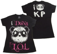 Girl Shirt Comic Evil Clothing Killer Panda