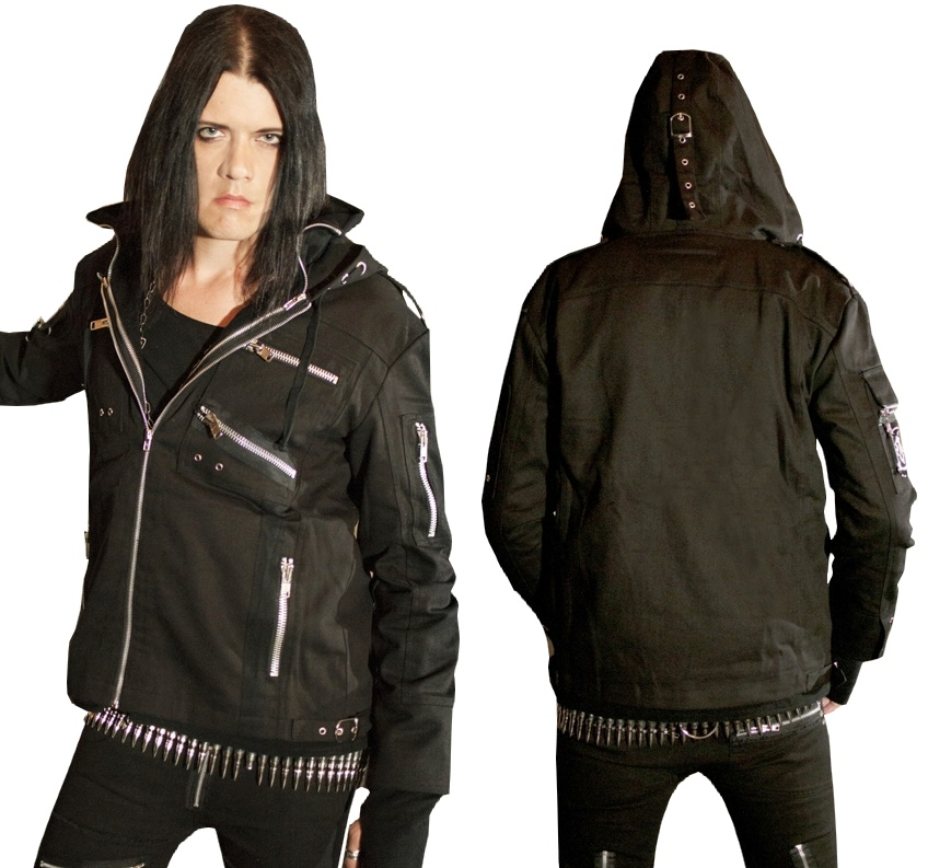 Männerjacke Evil Clothing Vixxsin